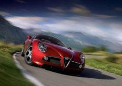 Alfa Romeo 8C Competizione, Альфа Ромео 8С Компетиционе