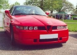 Alfa Romeo SZ, Альфа Ромео СЗ