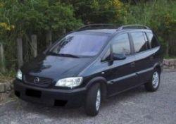 Chevrolet Zafira, Шевроле Зафира